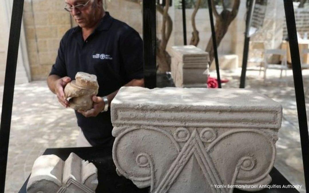 Paleis buite Jerusalem ontdek